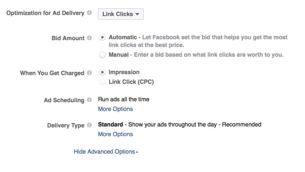 Những điều cần biết về cách đặt giá thầu Quảng cáo Facebook - image link-click-facebook on https://atpsoftware.vn