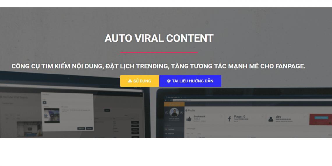 Bí quyết quản lý nhiều fanpage dễ dàng với công cụ Auto Viral Content của ATP Software