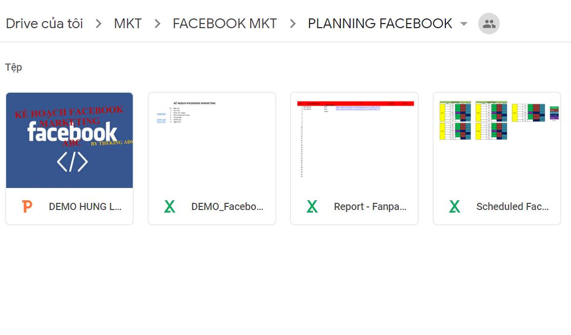 File Facebook Marketing Plan Mẫu