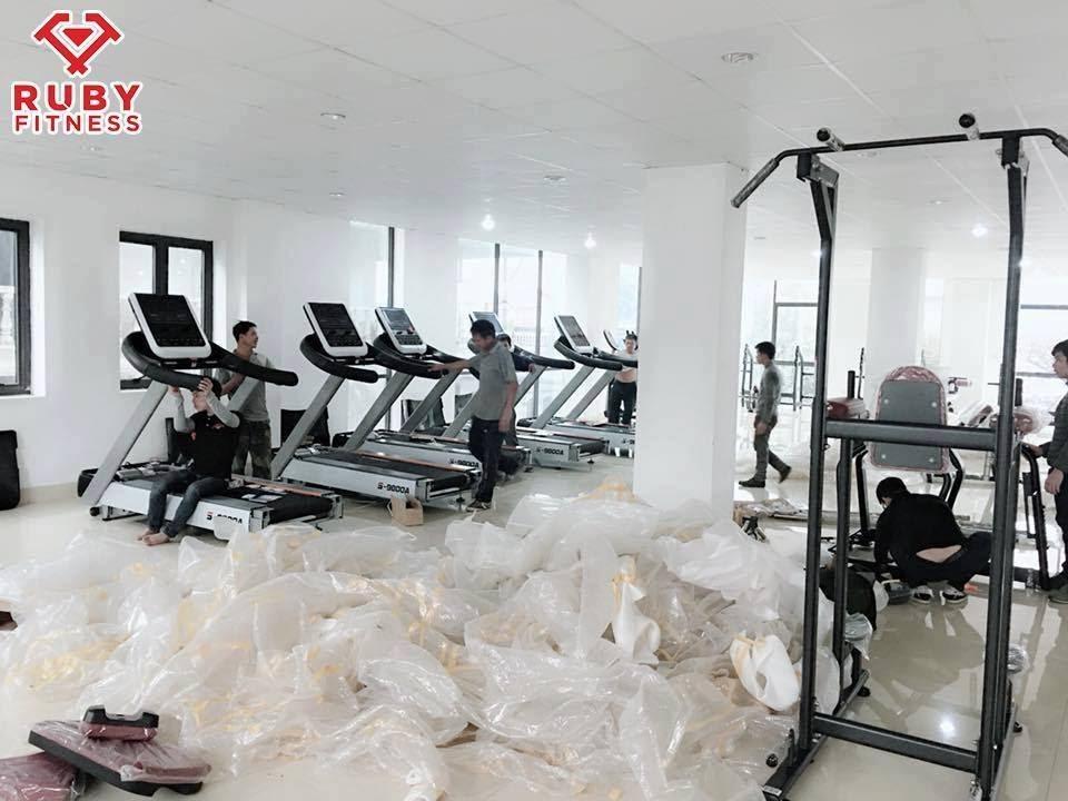 Kinh nghiệm setup phòng gym