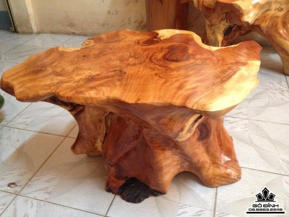 Đôn gốc cây gỗ Gõ Đỏ ( Cate )